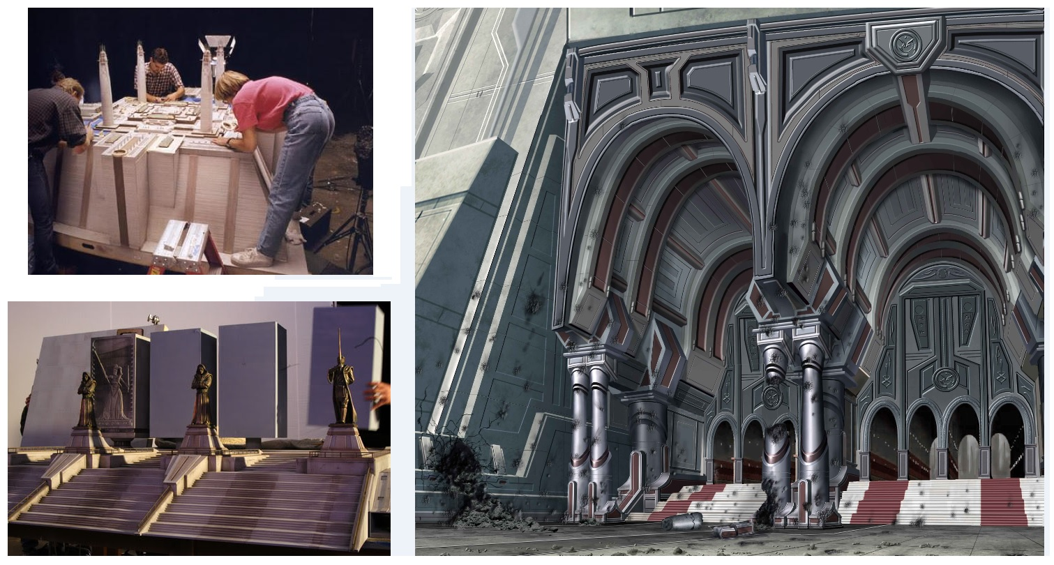 The Jedi Temple From Concept To Screen