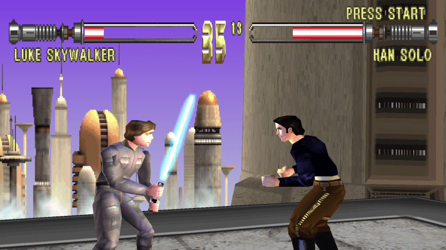 The Weirdest Star Wars Games   StarWars com Masters of Teras Kasi