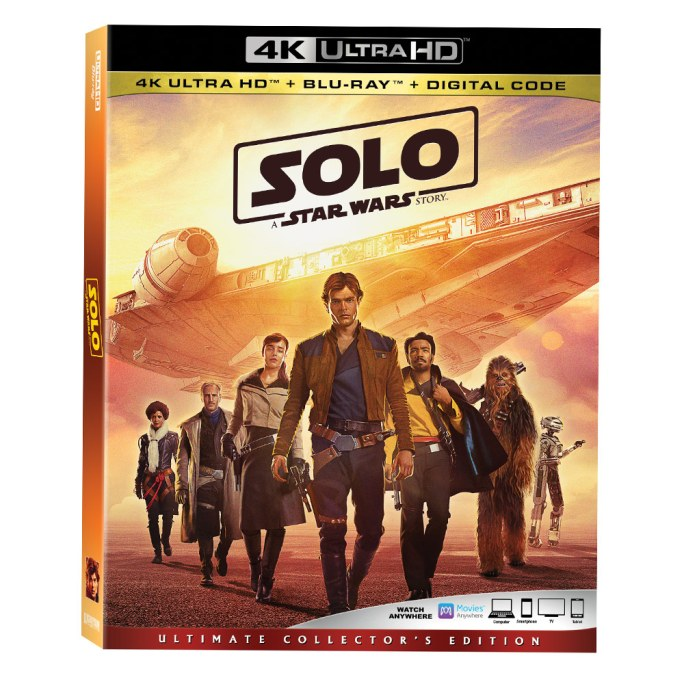 solo 4k Solo: A Star Wars Story Home Video Release Date Announced