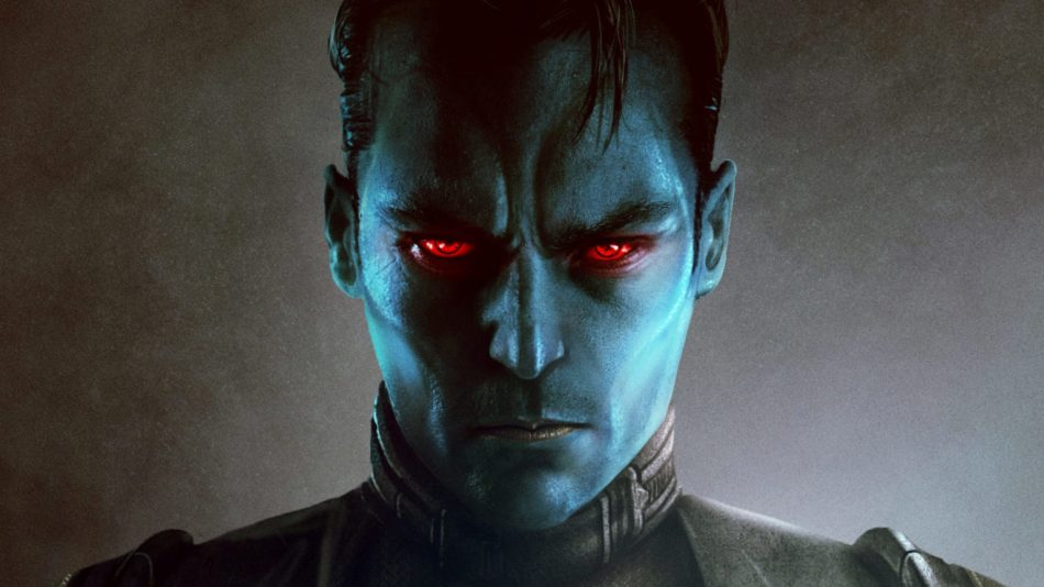 A picture of Thrawn, a character from one of the books to read in June.