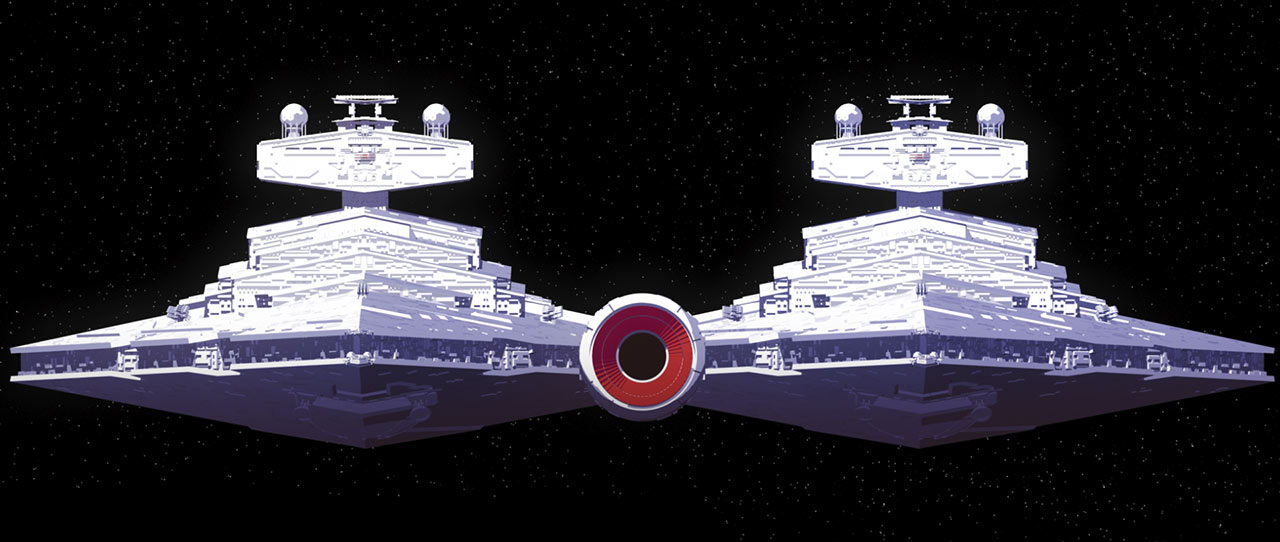 """The Twin Star Destroyer, """"The Twins"""""""