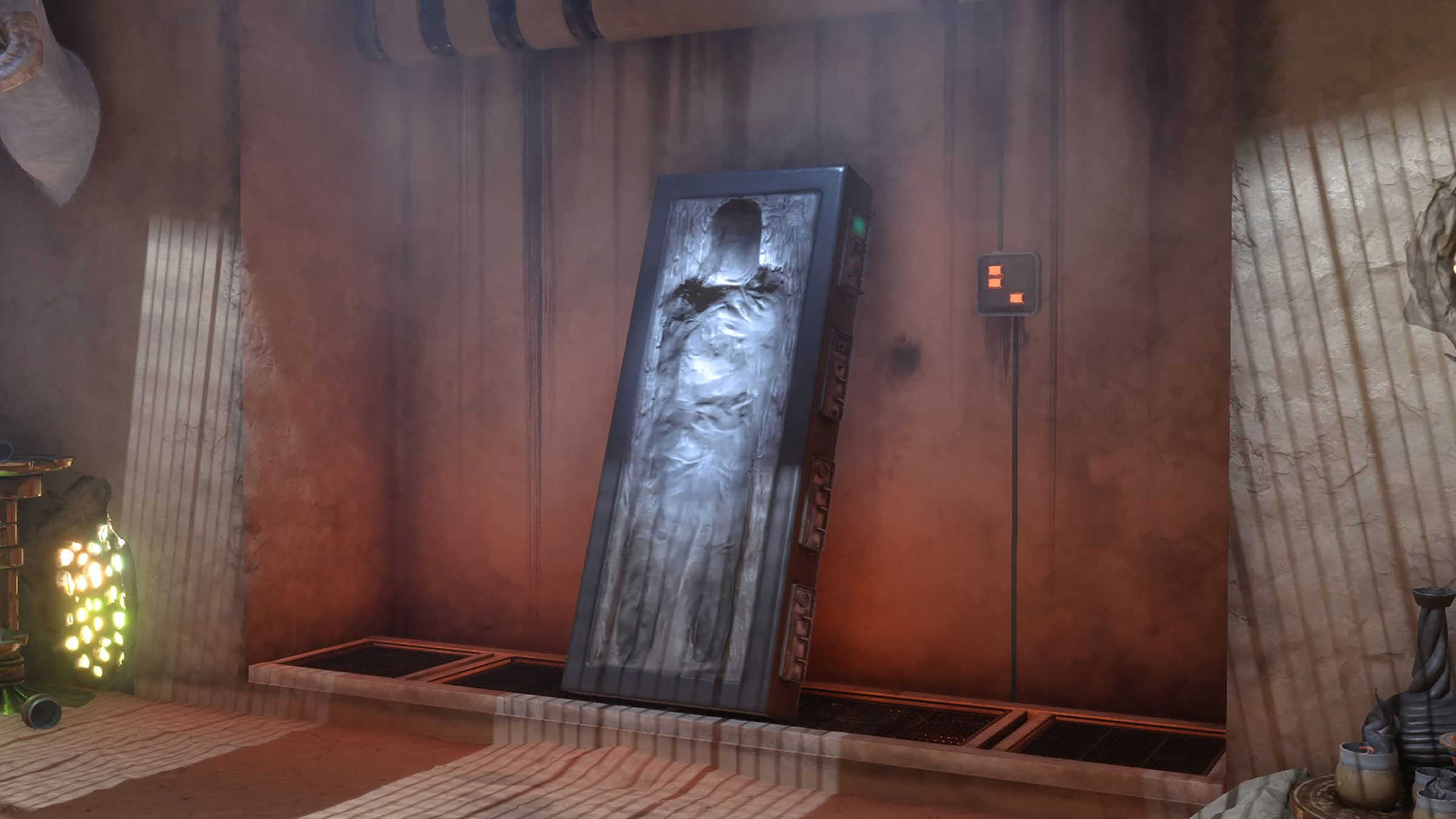 Han Solo Trapped Carbonite