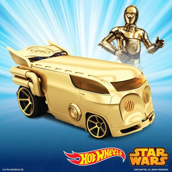 Hot Wheels C-3PO Character Car