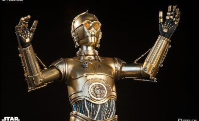 #shortcut: Sideshow C-3PO Sixth Scale Figur kommt als Neuauflage