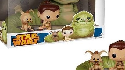 #shortcut: Riesiges Funko POP! Jabba, Leia & Salacious 3-Pack