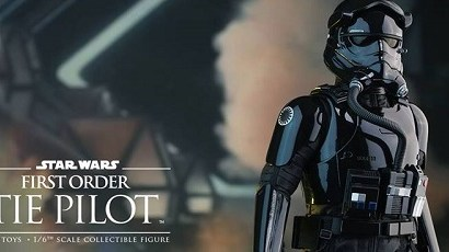 #shortcut: Hot Toys First Order TIE Pilot vorgestellt