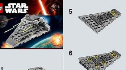 #shortcut: Bauanleitungen für die neuen LEGO Star Wars Polybags