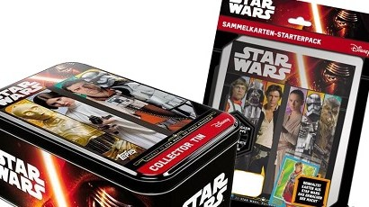 Gewinne eine Topps Star Wars The Force Awakens Collector Tin + Sammelalbum!