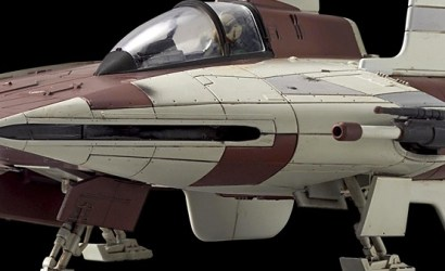 #shortcut: Offizielle Bilder zum Bandai A-Wing Model Kit