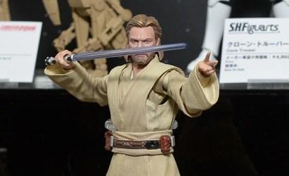 #shortcut: Neue Obi-Wan Kenobi S.H.Figuarts Figur ausgestellt