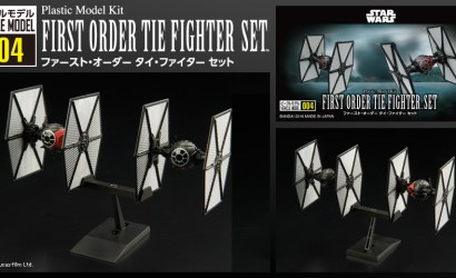 Bandai First Order TIE Fighter Set vorgestellt