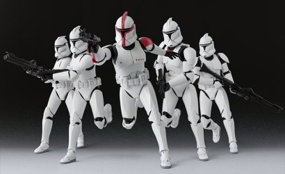 Tamashii Nations S.H.Figuarts Clone Trooper Captain vorgestellt