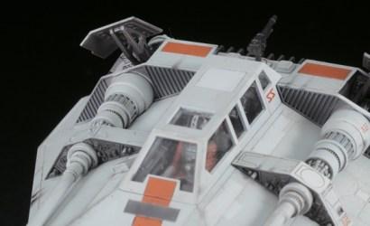 Bandai Star Wars 1/48 & 1/144 Snowspeeder Set vorgestellt