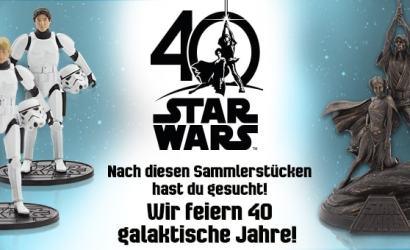 Disney Star Wars 40th Anniversary Produkte ab sofort verfügbar!