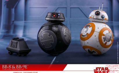 Neues Hot Toys BB-8 & BB-9E Sixth Scale Set vorgestellt