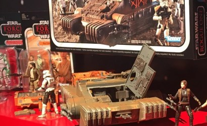The Vintage Collection 2018: Box des Imperial Combat Assault Tank ausgestellt