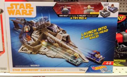 "Neues Hot Wheels Play-Set zu ""Solo: A Star Wars Story"""