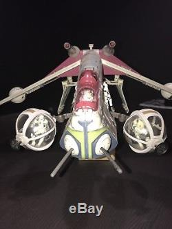 Custom Star Wars Clone Wars Clone Trooper Republic Gunship Toys R Us