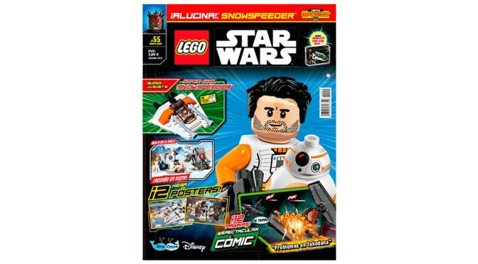 Revista Lego Star Wars #55