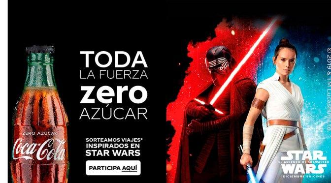 """Promoción Coca-Cola Zero """"El Ascenso de Skywalker"""""""
