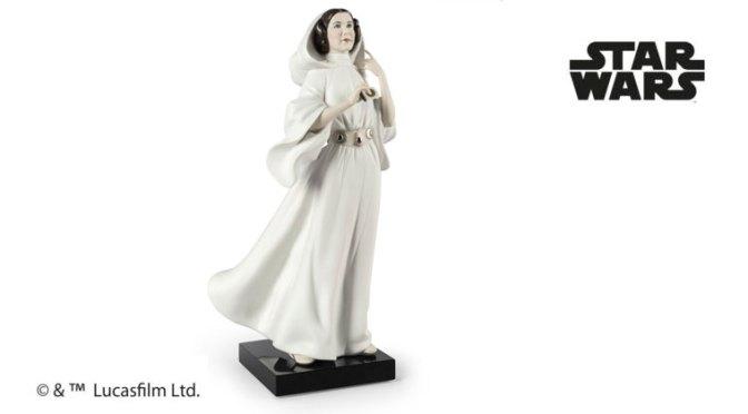La Princesa Leia, segunda entrega de Lladró para su serie limitada 'Born to Rebel'