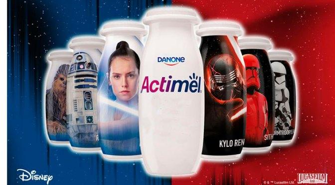 Promoción Actimel ¿De qué lado de la Fuerza estás?