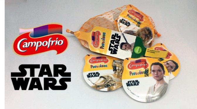 Promoción Star Wars Pavoninos Campofrío
