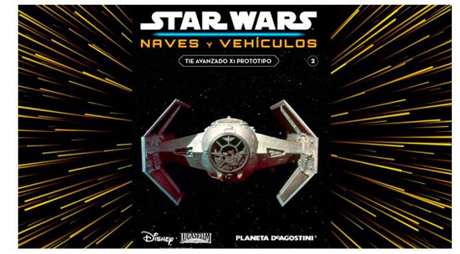 Revisión del coleccionable Star Wars Naves y Vehículos #2 de Planeta DeAgostini