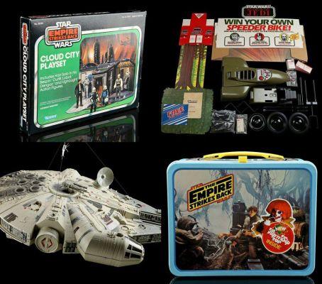 star wars, auction, empire strikes back, disney, star trek, LOTR, lucasfilm, last jedi, Episode IX, lord of the rings, marvel, toys, prop store