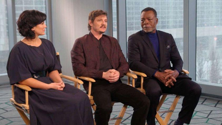 """The Mandalorian"" cast speaks to ""Good Morning America,"" April 19, 2019."