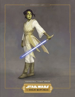 Characters of Star Wars: The High Republic  Vernestra Rwon