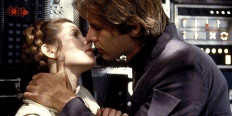 Han e Leia Star Wars
