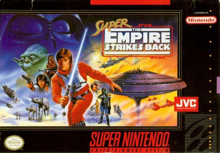 Super Star Wars - Empire Strikes Back - Nintendo Super NES - Play Retro Games 1