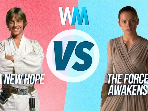 A New Hope Vs The Force Awakens 8