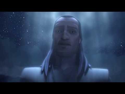 Anakin Speaks To Qui-Gon (Star Wars The Clone Wars)