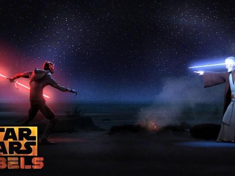 Darth Maul vs Obi-Wan Kenobi -  Star Wars Rebels