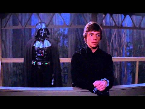 Luke Confronts Darth Vader - Return of the Jedi