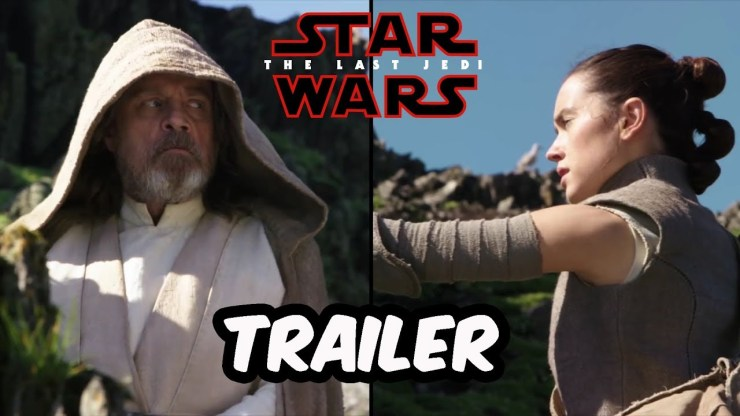 Nuevo Trailer - The Worlds Of The Last Jedi - STAR WARS 1