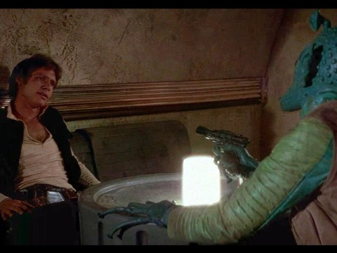 Original Cantina Scene - A New Hope (Han shot first).