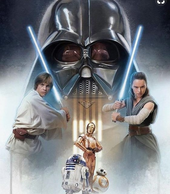Jedi Wallpaper: Star Wars Jedi VS Sith Wallpaper (Luke, Rey, Darth Vader