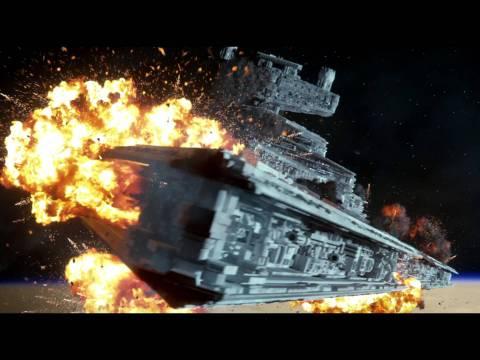 Prelude to Star Wars:The Force Awakens- Battle of Jakku HD (Fan-Made)