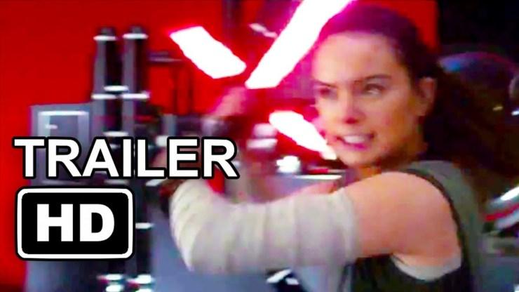 STAR WARS 8 Evil Rey Trailer (2017) The Last Jedi Movie HD