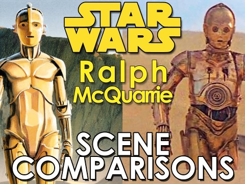 Star Wars Art: Ralph McQuarrie - scene and painting comparisons 5