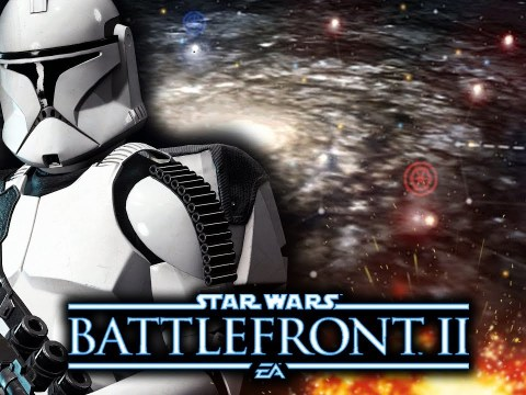 Star Wars Battlefront 2 - Galactic Conquest Mode.