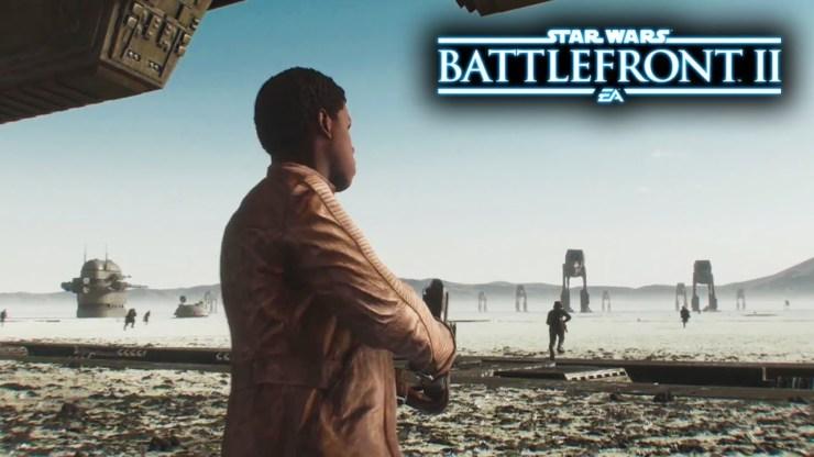 Star Wars Battlefront II - The Last Jedi Free DLC TRAILER