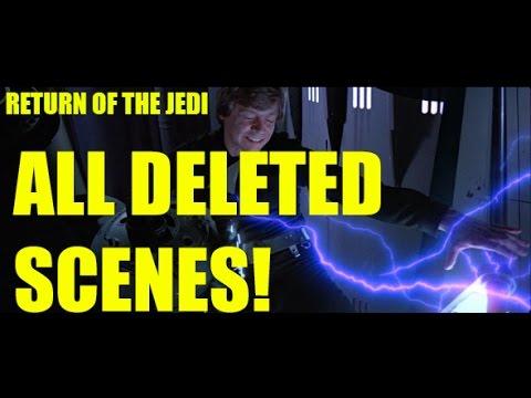 Star Wars Episode VI Return Of The Jedi deleted scenes.
