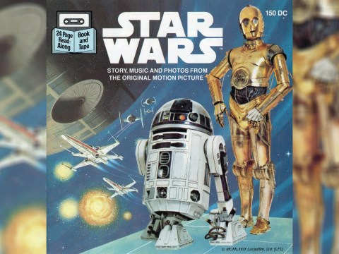 Star Wars original trilogy audio books