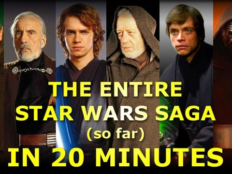 Star Wars Saga Explained in 20 Minutes