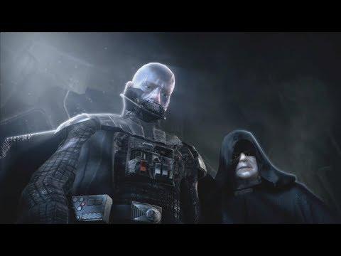 Star Wars The Force Unleashed StarKiller VS The Emperor.