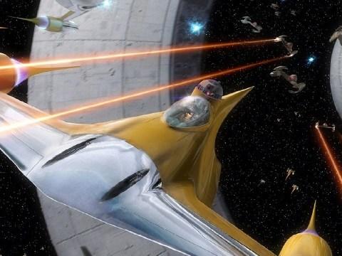 Star Wars The Phantom Menace Space Battles